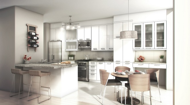The Marquee Townhomes Kitchen