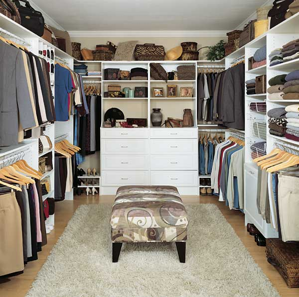 walk in closets casual cottage