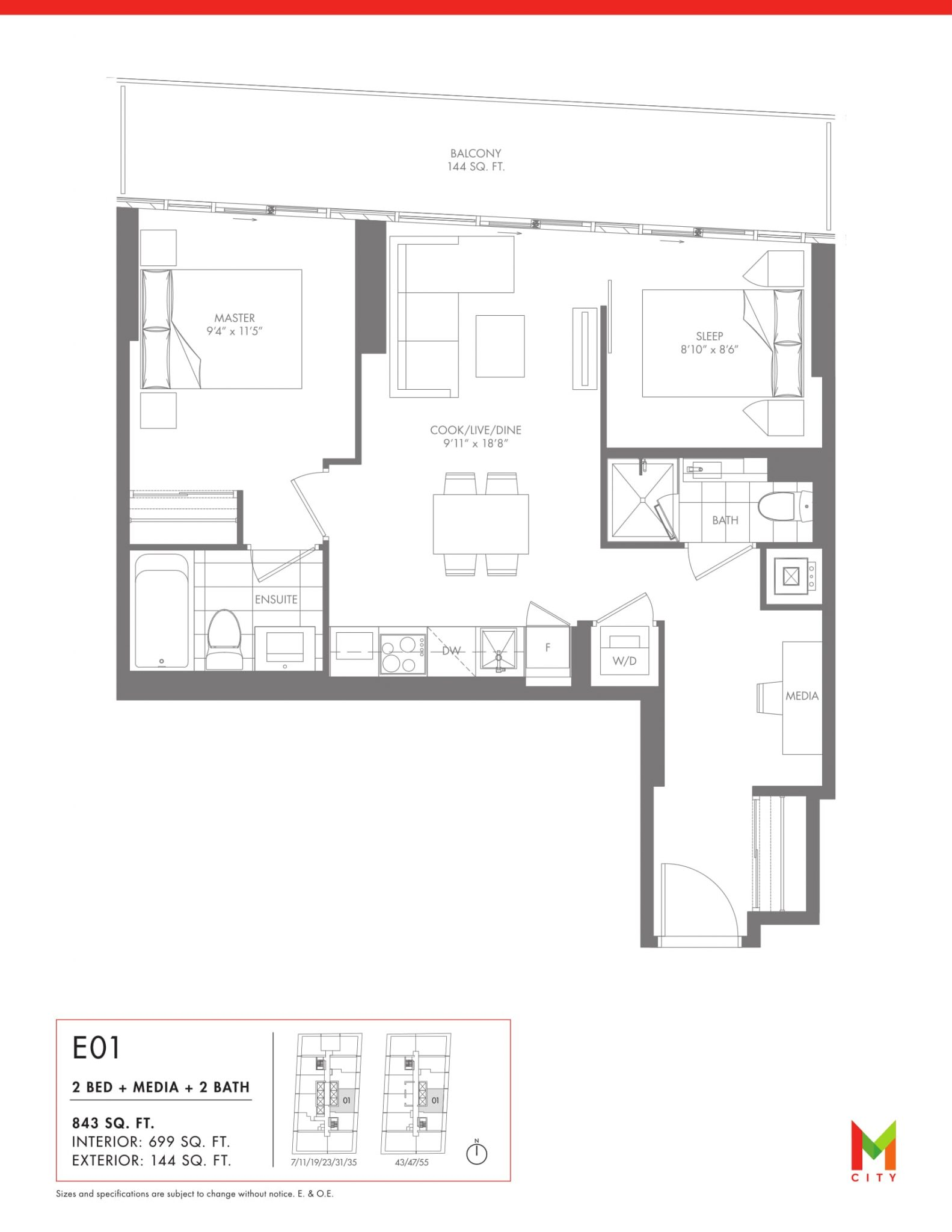 M city condos for sale prices and floorplans for My floor planner